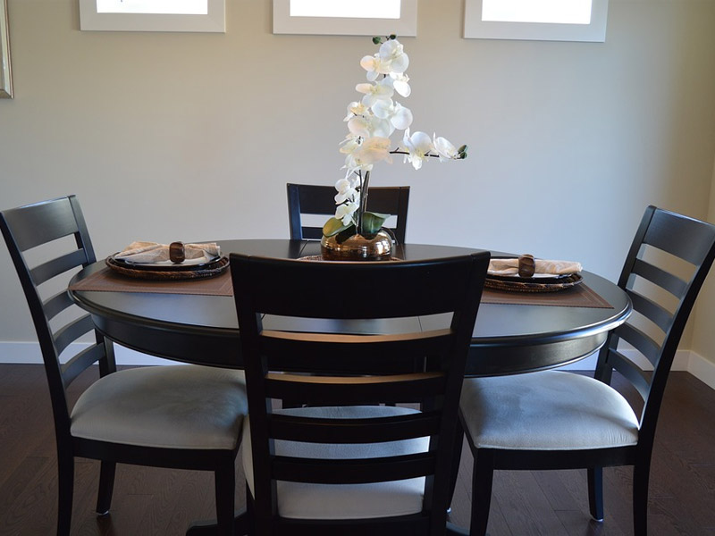 Matching dining room furniture just fine tables farm to for Matching kitchen sets