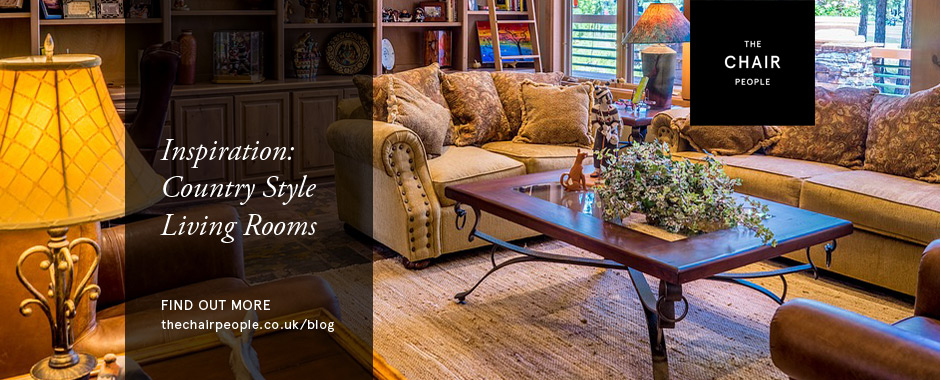 Country Style Living Rooms Header